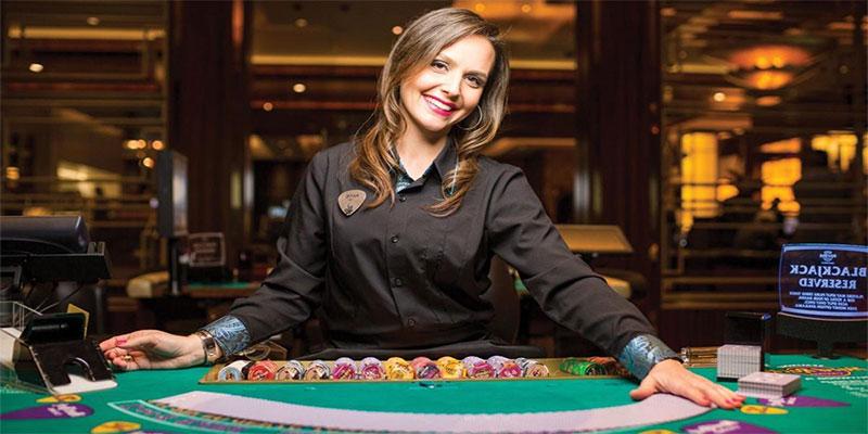Les gens qui travaillent dans les casinos !